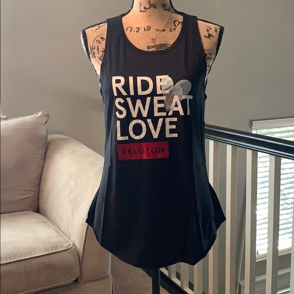 Peloton Ride Sweat Love Tank
